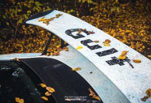 Ржавый спойлер Porsche 911 GT3 RS Gulf Racing