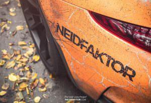 Porsche 911 GT3 RS: эффект ржавчины от Neidfaktor