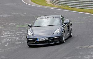 Новый Porsche 718 Cayman GTS тестируют в Нюрбургринге
