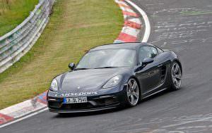 Дорожные тесты Porsche 718 Cayman GTS в Нюрбургринге