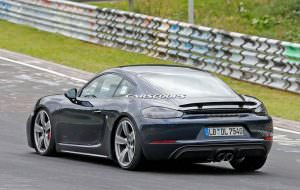Новый Porsche 718 Cayman GTS. Фото шпионов