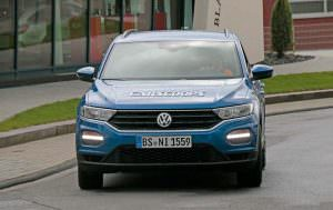 Тесты прототипа Volkswagen T-Roc R 2017