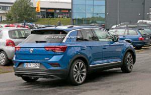 Испытания прототипа Volkswagen T-Roc R 2017