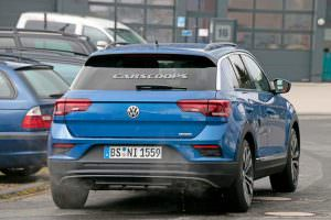 Тестовый прототип Volkswagen T-Roc R 2017