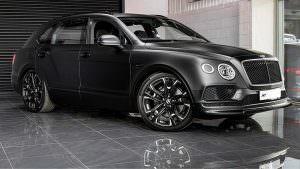 Тюнинг Bentley Bentayga Le Mans Edition от Kahn Automobiles