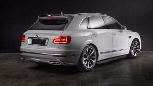 Тюнинг Bentley Bentayga от Carbon Pro