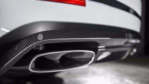 Новые выхлопные трубы Bentley Bentayga от Carbon Pro