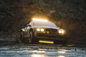 Единственный в мире внедорожник Bentley Continental GT Rally