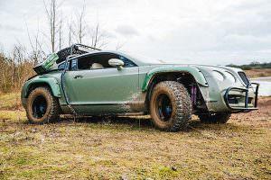 Купе Bentley Continental GT с подготовкой для бездорожья