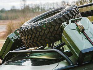 Bentley Continental GT Rally Edition: запаска на крыше
