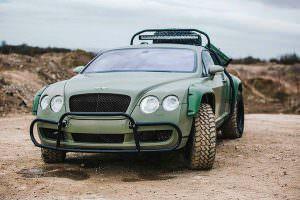 Единственный Bentley Continental GT Rally Edition
