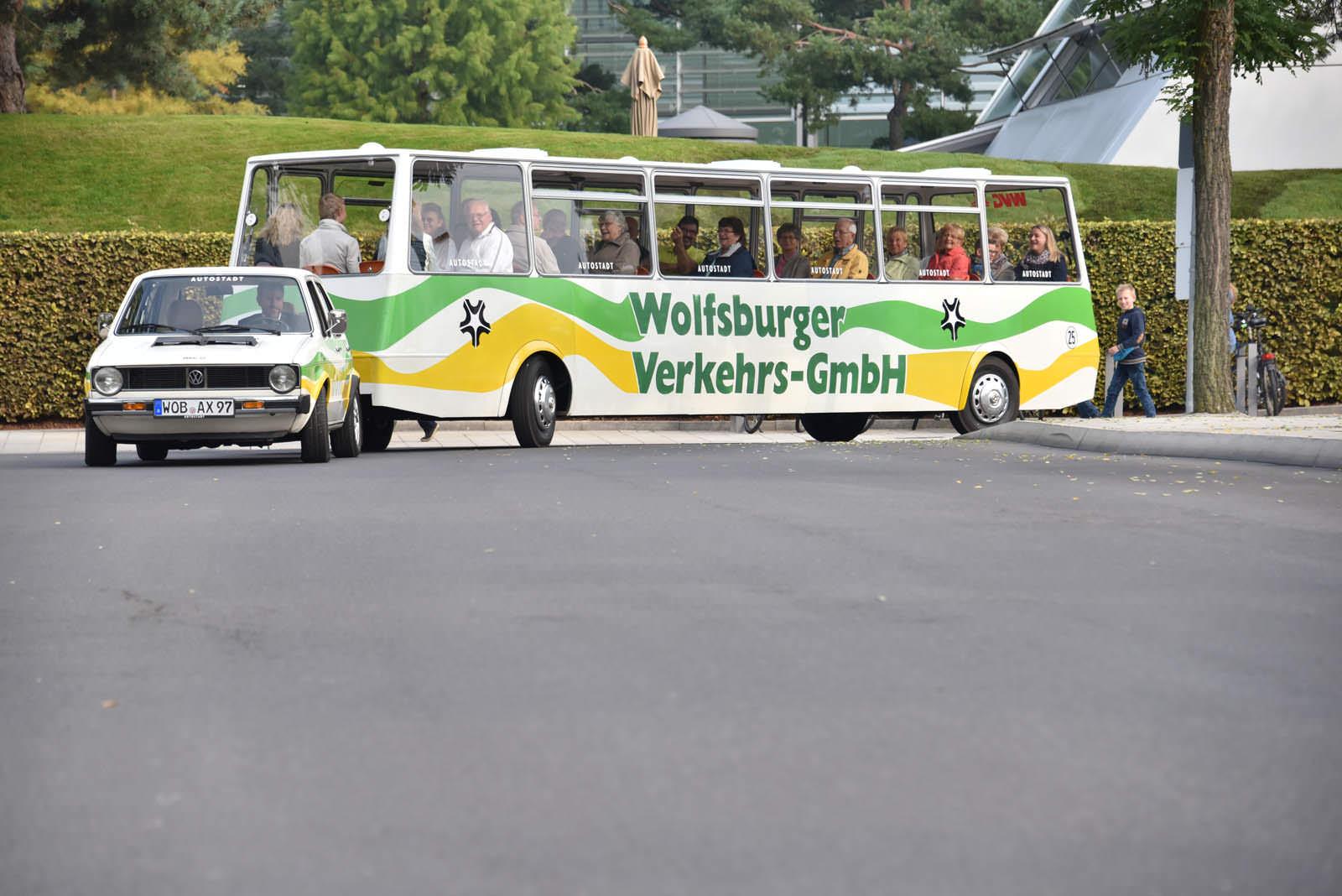 Экскурсионный автобус Volkswagen Golf Bähnle на 36 человек