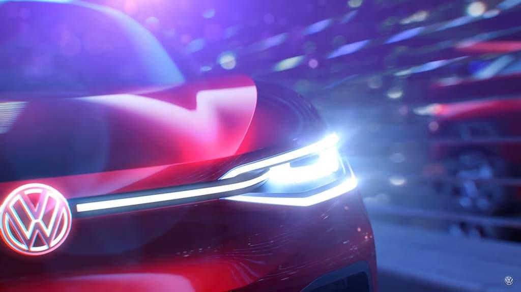 Фары Volkswagen I.D. Crozz Concept IAA 2017