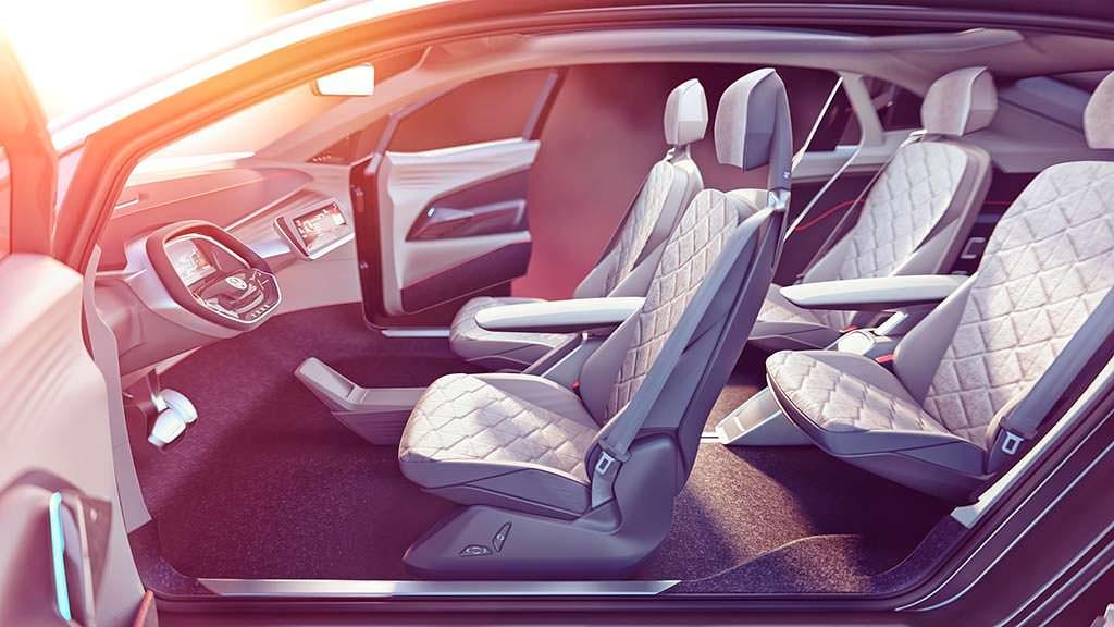 Фото салона VW I.D. Crozz II Concept