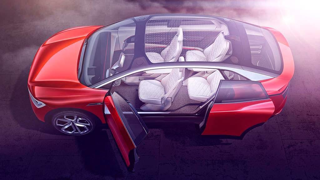 VW I.D. Crozz II Concept: кузов без центральной стойки