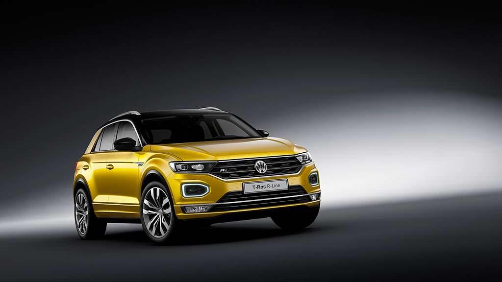 Новый Volkswagen T-Roc R-Line