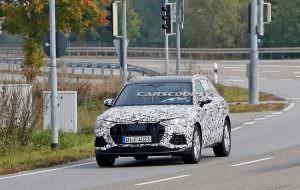 2019 Audi Q3 на дорожных тестах в Европе