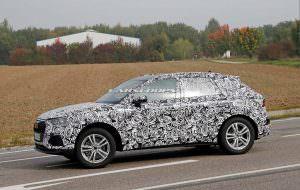 2019 Audi Q3 на дорожных испытаниях в Европе
