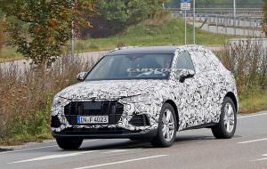 Кроссовер Audi Q3 на дорожных испытаниях в Европе