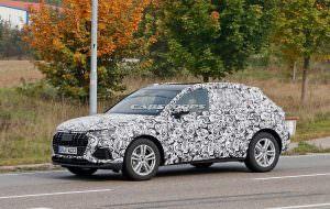 Дорожные испытания Audi Q3 второго поколения