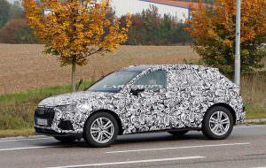 Второе поколение Audi Q3 на дорожных испытаниях
