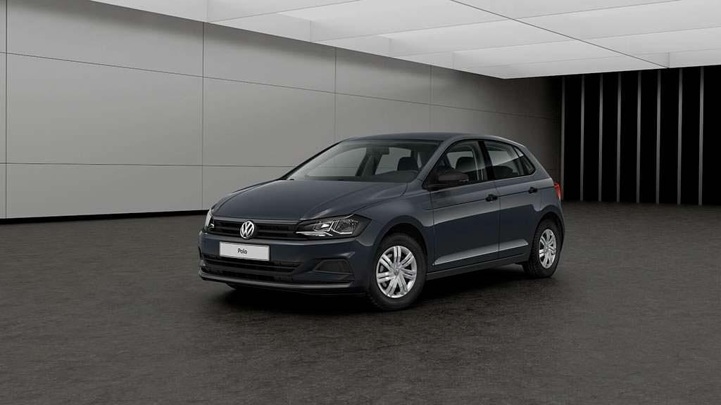 Базовый Volkswagen Polo нового поколения