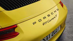 Крышка моторного отсека Porsche 911 Carrera T