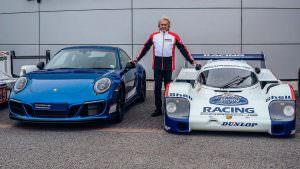Особый Porsche 911 Carrera 4 GTS British Legends Edition