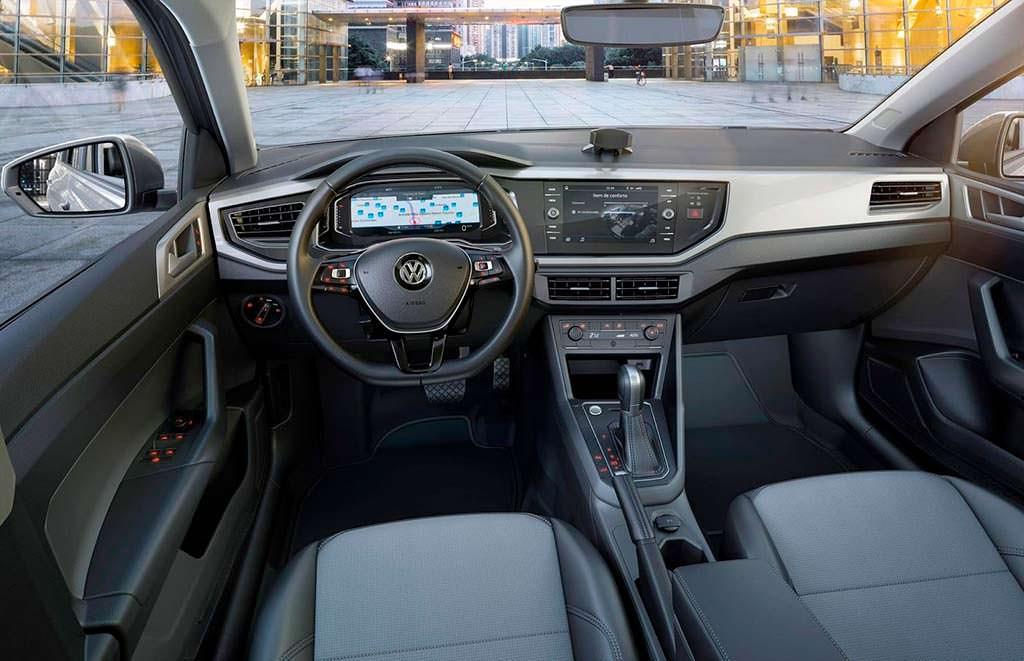 Фото салона Volkswagen Virtus 2018