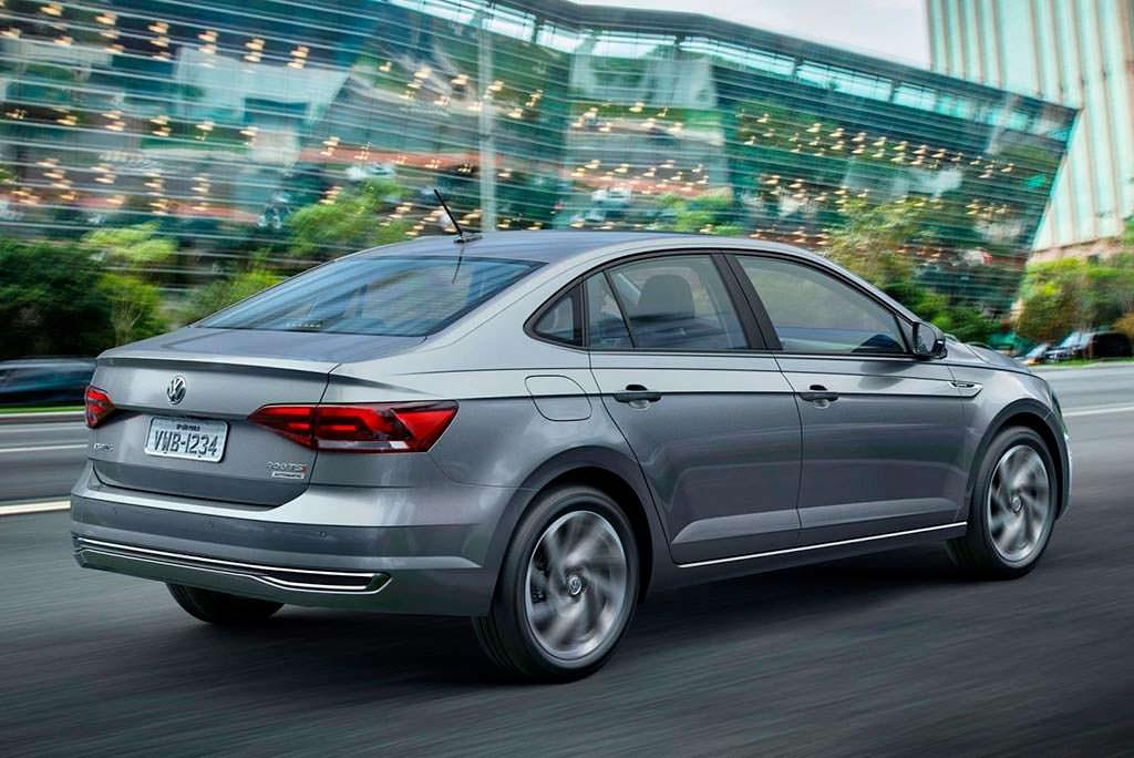 Новый Volkswagen Polo Sedan 2018 для Бразилии