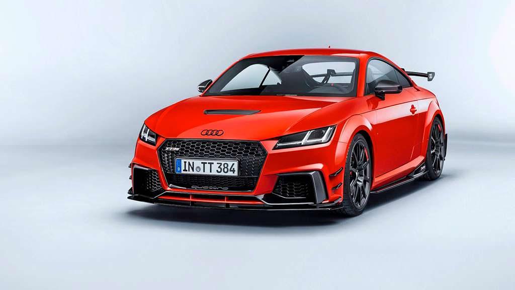 Новая Audi TT Clubsport Concept 2017