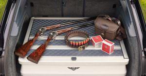 Bentley Bentayga Field Sports с двумя ружьями Purdey