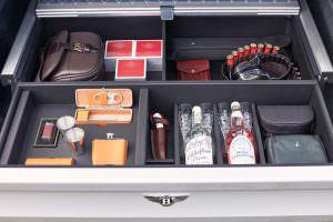 Бокс охотника в багажнике Bentley Bentayga Field Sports