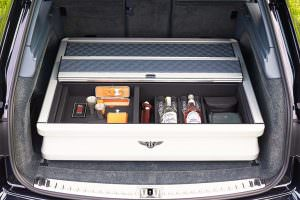 Охотничий набор в багажнике Bentley Bentayga Field Sports