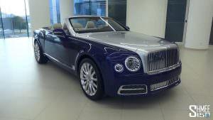 Новый кабриолет Bentley Grand Convertible от Mulliner