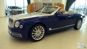 Новый кабриолет Bentley Grand Convertible