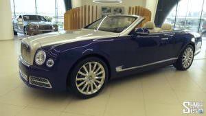 Роскошный кабриолет Bentley Grand Convertible от Mulliner
