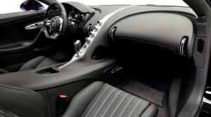 Дизайн салона Bugatti Chiron