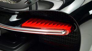 Задний фонарь Bugatti Chiron
