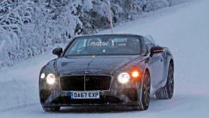 Дорожные тесты кабриолета Bentley Continental GTC 2019