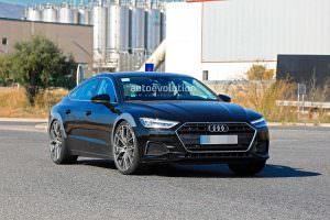 Фото шпионов Audi RS7 Sportback 2019 на испытаниях