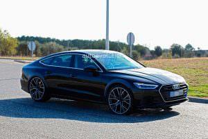 Испытания Audi RS7 нового поколения. Шпионские фото