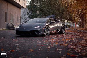 Lamborghini Huracan Performante на дисках PUR RS22