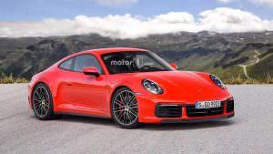 Новая Porsche 911, неофициальный дизайн от Motor1.com
