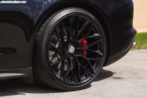 Многоспицевые чёрные диски P200 от HRE Wheels