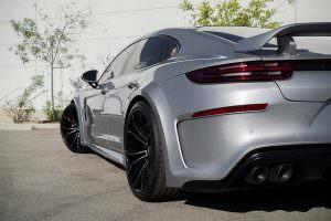 Porsche Panamera. Широкий обвес TechArt GT