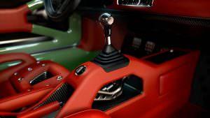 Селектор коробки передач Porsche 911 DLS от Singer