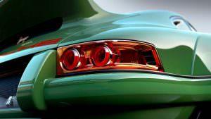 Задние фонари Porsche 911 DLS от Singer