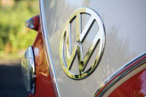 Большой логотип Volkswagen Microbus Deluxe