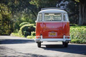 Оригинальный Volkswagen Microbus Deluxe 1960 года